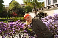 EKSPERT: Elisabeth Heggland Urø er Bonansas hageskribent. FOTO: Rolf Sejersted