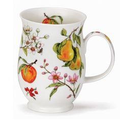 Dunokn Mugs - Suffolk Shape - Fruits & Blossom: Pear Mugs And Jugs, Best Stocking Stuffers, Tea Art, Teacups, Drinking Tea, Bone China, Cup And Saucer, Cottages, Dinnerware