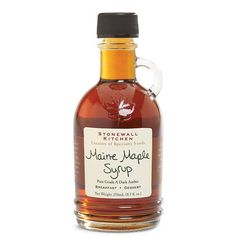 Maine MapleSyrup, from Stonewall Kitchen.8.5 ounce bottle.