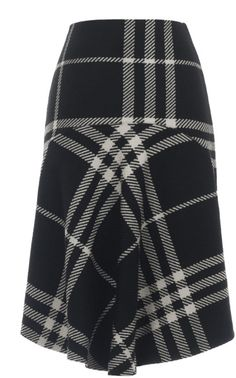 Triple Check Skirt by Ioana Ciolacu for Preorder on Moda Operandi Skirt Fashion, Day Dresses, Textiles, Black And White, My Style, Skirts, Fashion Designers, Clothes, Shopping