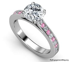 pink diamonds engagement ring - My Engagement Ring