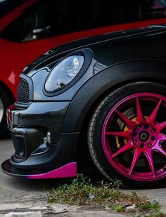 Fab custom details~ MINI Cooper Love!