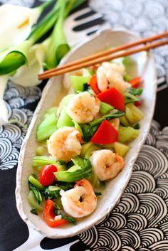 プリプリえびのあっさり塩炒め by 田口恵美   レシピサイト「Nadia   ナディア」プロの料理を無料で検索