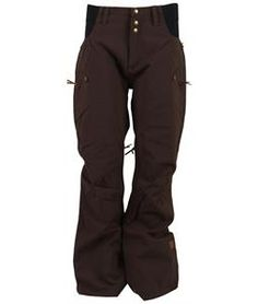 Ride High Waisted Snowboard Pants - Womens page.year