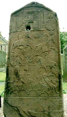 Aberlemno Pictish stone
