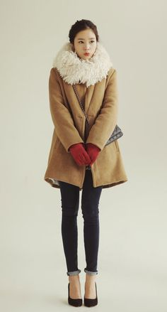I wish I had this Darling coat!!