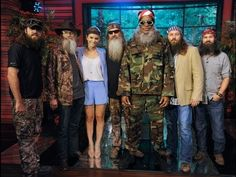 """""""Duck Dynasty"""" Comes Calling on """"LIVE with Kelly and Michael"""""""