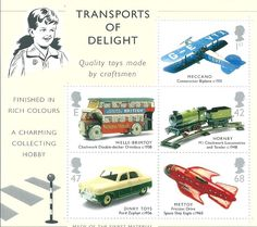 GB - 2003 Transports of Delight Miniature Sheet MS 2402 MNH