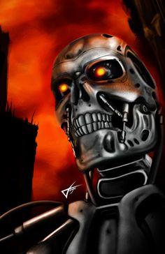 Terminator T-800 - sixfrid.deviantart.com