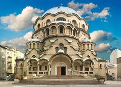 The Cathedral of Alexander Nevsky in Sofia, Bulgaria. Description from…