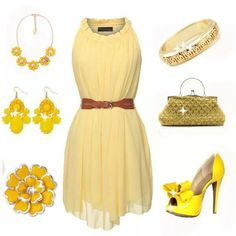 Yellow Summer Outfit