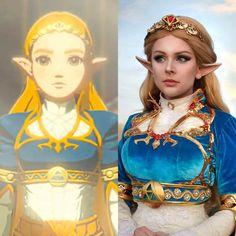 Princess Zelda cosplay [Breath of the wild]