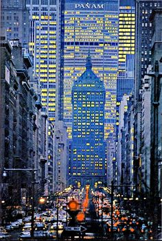 Park Avenue, New York.