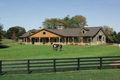 Morton horse barn in Illinois.