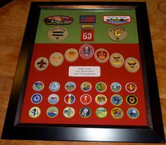 Eagle Scout Merit Badge. $100.00, via Etsy. Very nice! Recreate for less $?