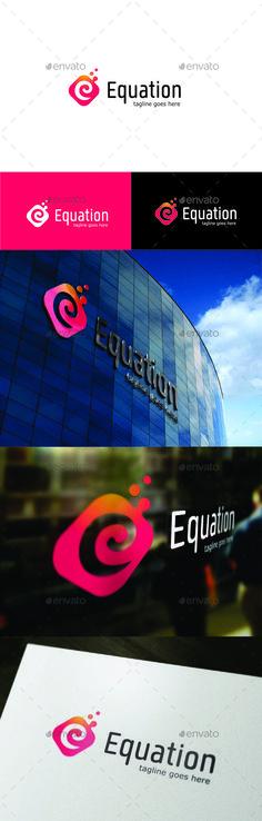 Letter E Logo — Vector EPS #data #e • Available here → https://graphicriver.net/item/letter-e-logo/15498580?ref=pxcr