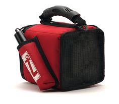 ALTAVOZ Y FUNDA PORTÁTIL.  MINI BOX LITE PB30  Con altavoz funda y micrófono includio, con una cómoda correa que permite una movilidad y comodidad absoluta.  Disponible en rojo y azul.altavoz