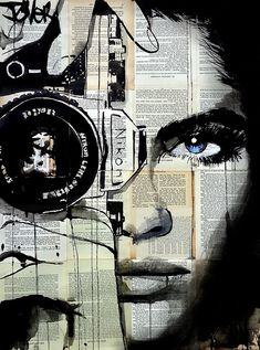 View LOUI JOVER's Artwork on Saatchi Art. Find art for sale at great prices from artists including Paintings, Photography, Sculpture, and Prints by Top Emerging Artists like LOUI JOVER. Arte Pop, Journal D'art, Art Du Collage, Surreal Collage, Collage Artists, Pop Art, Newspaper Art, Shutter Speed, Camera Shutter