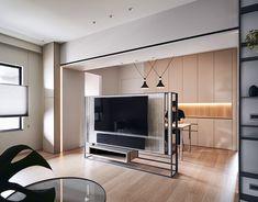 Modern Interior, Interior Design, Ceiling Design, Room Organization, Modern Contemporary, Small Spaces, Furniture Design, Living Room, Wall Tv