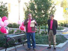 Matt Walsh, Mayor Pro-Tem, reads Pink Out 2011 Proclamation