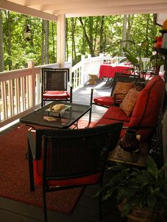 A make you drool porch