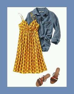 ** Old Navy sz M ~ sunshine yellow boho hippie floral sundress ~ gorgeous