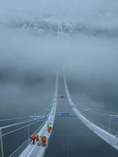 A Bridge In Norway | A Pondering Mind