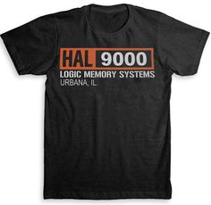 Hal 9000 2001 A Space Odyssey Movie Inspired T by StrangeLoveTees, $24.99