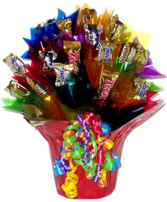 Tutorial How To Make A Candy Bouquet Pinterest Gift And Craft