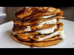 Sweet Potato Pancakes Stuffed with Ricotta Cheese