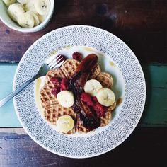 3-Ingredient Vegan Waffles