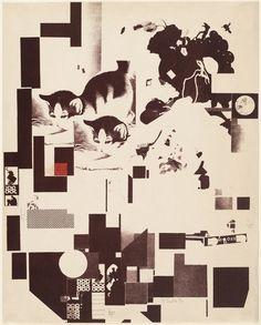 Kurt Schwitters. Plate 5 from Merz 3. Kurt Schwitters 6 Lithos. Merz Portfolio. First Portfolio of the Merz Publisher (Merz 3. Kurt Schwitters 6 Lithos. Merz Mappe. Erste Mappe des Merzverlages). 1923
