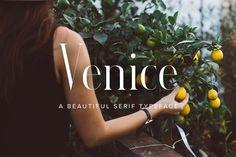 Venice   A Beautiful Serif Typeface