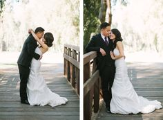 Seriously gorgeous bride and groom!
