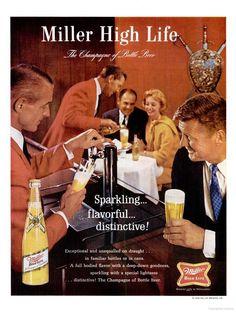 Miller Beer ad (1965)