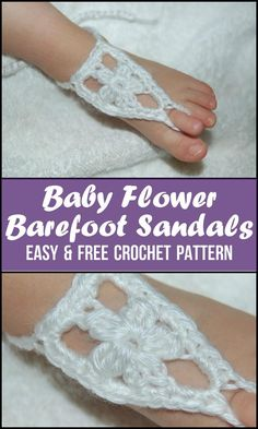 Crochet Barefoot Sandals - 50+ Free Crochet Patterns - Page 2 of 10 - DIY & Crafts