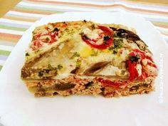 musaca de vinete Blood Type Diet, Romanian Food, Dukan Diet, Lasagna, Quiche, Sandwiches, Deserts, Breakfast, Ethnic Recipes
