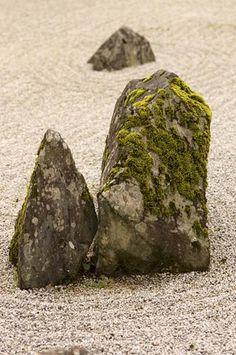 Zen rock garden, Joeiji temple, Yamaguchi, Japan, 2006