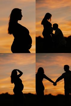Maternity Portraits, Wedding Portraits, Baby Silhouette, Pittsburgh Pa, Baby Bumps, Golden Hour, Our Baby, Portrait Photographers, Romantic