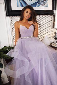 A-Line Spaghetti Straps Sleeveless Layers Tulle Wedding Dresses