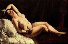 Artemesia Gentileschi-Cleopatra, 1621-22