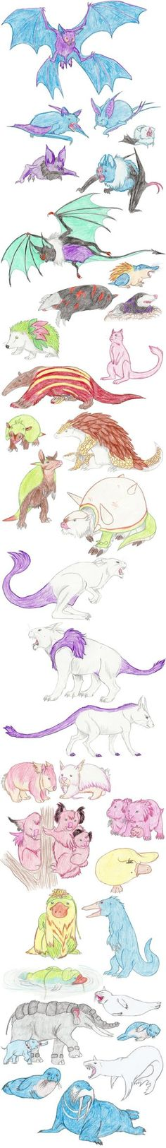 Other Mammalian Pokemon by DragonlordRynn on DeviantArt