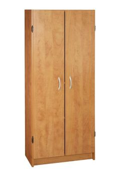Sauder Beginnings Storage Cabinet with Four Adjustable Shelves ...