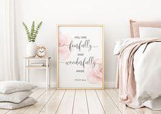 Bedroom Prints, Bedroom Art, Nursery Wall Art, Girls Bedroom, Master Bedroom, Typography Prints, Quote Prints, Wall Art Prints, All You Need Is