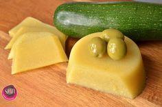 Paleo hamis sajt cukkiniből (tejmentes, tojásmentes sajt recept vegán változatban is) ~ Éhezésmentes Karcsúság Szafival