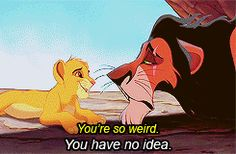 """""""I always hated Scar when I was little, but now I realize... I AM Scar."""" (gif set)"""