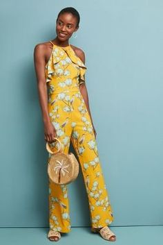 485e7b5f55a Shop the Warbler Ruffled Jumpsuit and more at Anthropologie today. White  Jumpsuits And Rompers