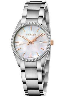 518cc19eeac Calvin Klein Stainless Steel Alliance Ladies Watch