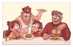 Pines family - Gravity Falls