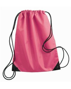 39f9293927 Liberty Bags - Value Drawstring Backpack - 8886 View Size Specification  Catalog Page: 507 210 denier nylon Black cord drawstring Size: x